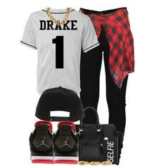Drake 1, created by cheerstostyle on Polyvore