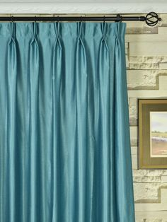 knife pleated curtains heading tape window treatments. Black Bedroom Furniture Sets. Home Design Ideas