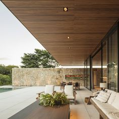 Gallery of FL House / Jacobsen Arquitetura - 2 - . - Gallery of FL House / Jacobsen Arquitetura – 2 – Lar - Futuristic Architecture, Architecture Plan, Residential Architecture, Contemporary Architecture, Contemporary Patio, Concrete Architecture, Pavilion Architecture, Japanese Architecture, Sustainable Architecture
