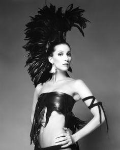 Cher in After Dark magazine, 1979.