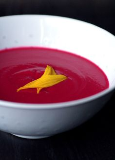 How To Make Dr. Fuhrman-style Beet & Cauliflower Dill Soup...http://homestead-and-survival.com/how-to-make-dr-fuhrman-style-beet-cauliflower-dill-soup/