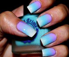 Tie Dye Nails Claire S Matte Grant Acrylic Ombre