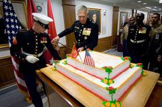 Way back on this day in before the USA was the USA, the Continental Congress passed a resolution creating two battalions of Contine. Marine Corps Birthday, Us Marine Corps, Happy Bday Marines, Trust And Loyalty, Usmc, Troops, Celebrations, Balls, November