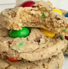 Instant Pot Cilantro Lime Rice | Together as Family M M Cookies, Sandwich Cookies, Cookies Soft, Peanut Butter M&ms, Chewy Peanut Butter Cookies, Cake Mix Recipes, Cookie Recipes, Pie Recipes, Teriyaki Chicken Rice Bowl