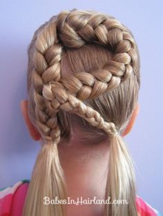 Letter R Hairstyle