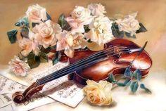 музыка роз - Схемы вышивки - lucha28 - Авторы - Портал «Вышивка крестом»