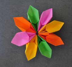 Origami - How to fold a Magic Flower (+lejátszási lista)