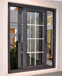 jendela rumah minimalis warna hitam