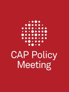College of American Pathologists' EventPilot Medical Conference App Meeting Splash Screen Example for 2016 Policy Meeting