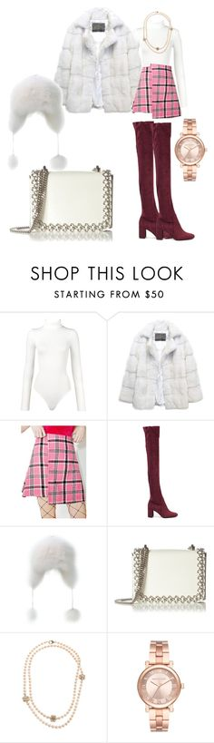 """""""Fluff"""" by p0llyinurpocket ❤ liked on Polyvore featuring Wolford, Lilly e Violetta, The Ragged Priest, Jeffrey Campbell, Kaviar Gauche, Chanel and Michael Kors"""