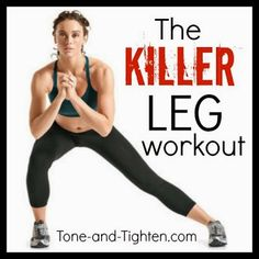 Tone & Tighten: Weekly Workout Plan - 5 days of workouts to get you through your week