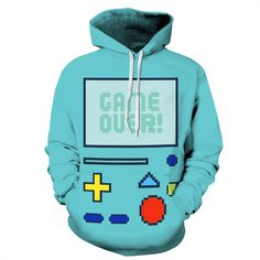 Oh yes, Adventure Time - ... is in! Great gift!  http://www.favoritememorabilia.com/products/adventure-time-bmo-robot-epic-hoodie?utm_campaign=social_autopilot&utm_source=pin&utm_medium=pin
