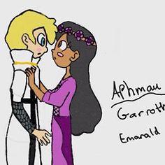 (NOT MY ART NO CREDIT) I LOVE GARMAU!!!❤️ I ship it all I don't want it I end(Which it's not) but yea ❤️
