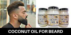 Coconut Oil for Beard: Uses + Benefits + Top Oil Brands  http://beardoilguy.com/coconut-oil-beard/  #CoconutOilforBeard #CoconutOilBenefits