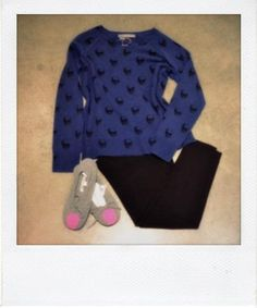 Empire Rose look #1. Skull cashmere. Autumn Cashmere. Weekend comfort!