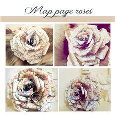 ..Twigg studios: diy map page roses