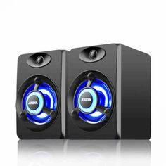 Colorful LED Light Computer Speaker Bass Stereo Dual Speakers for – Wind Group Online Pc Speakers, Headphones For Sale, Signal To Noise Ratio, Laptops For Sale, Desktop Computers, Usb, Type 3, Colorful, Channel 2