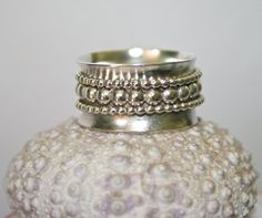 Sterling Silver Spinner Ring by BajaDesigns on Etsy