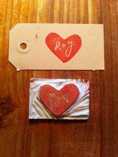 Idea for our wedding stamp -  Idee voor stempel voor onze bruiloft.