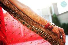 bride and henna