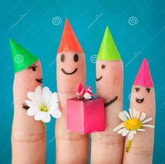 Finger party! Yay!