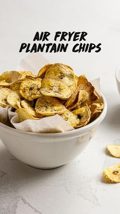 Dairy Free Appetizers, Dairy Free Snacks, Salty Snacks, Quick Snacks, Homemade Chips, Baked Chips, 30 Minute Meals, Air Fryer Recipes, Food To Make
