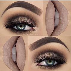 Get Ready For A Glamorous Night With These 15 Smokey Eye Makeup Ideas #glamorousmakeup