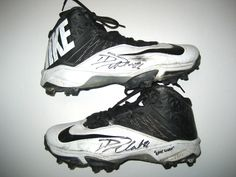 David DeCastro Pittsburgh Steelers Game Worn & Signed Black & White Nike Cleats