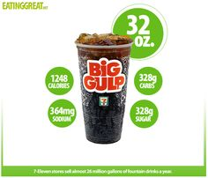 How Many Calories Are In A 7-11 Big Gulp?