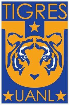 Escudo de Tigres UANL a partir del Torneo Apertura 2012.