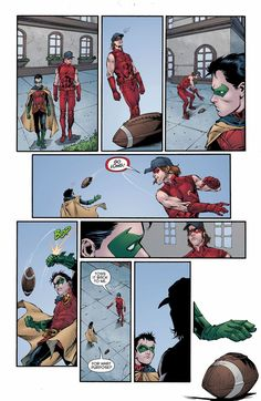Red Hood and the Outlaws #17 Football Arsenal and Robin Damian Wayne Roy Harper DC Comics - Visit to grab an amazing super hero shirt now on sale!