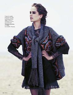 Vanessa Hegelmaier by Sven Baenziger for Grazia Italia No.33 August 13th 2012 [Editorial]