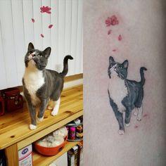 Top 14 des plus jolis tatouages inspirés par les chats