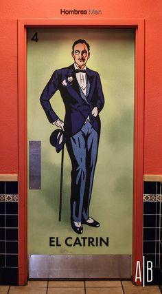 Men's room in Mexico.