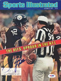 Terry Bradshaw Autographed Magazine Cover Steelers PSA/DNA #S28949