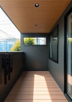 Porch Wall Design, Pvc Ceiling Design, Home Grill Design, Privacy Fence Designs, Small Balcony Decor, Home Ceiling, Beach House, Interior, Outdoor Decor