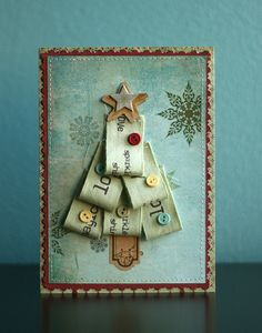 cute #tree #christmas #card