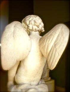 Angel at the Louvre.