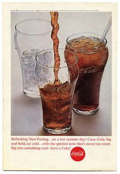 Coca Cola Advertisement. USA/1963 #cocacola