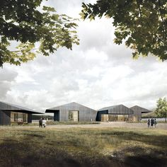 Windermere Steamboat Museum - Carmody Groarke, Visualisation by Forbes Massie