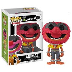 The Muppets Pop! Vinyl Figure Animal - The Muppets - Funko Pop! Disney Pop, Disney Parks, Funk Pop, Pop Vinyl Figures, Pop Bobble Heads, Muppets Most Wanted, All Pop, Funko Pop Toys, Chesire Cat