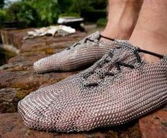 Chainmail Shoes $250.00