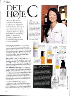 Maj 2012 - Magasinet IN anbefaler Danish Skin Cares dagcreme med solfaktor
