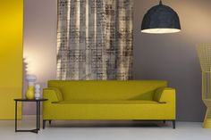 Pode_bank_edit_319_10 Sofa, Couch, Furniture Design, Lounge, Curtains, Wall, Home Decor, Living Rooms, Yellow