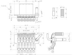 puente-floyd-rose-gotoh-japan-tremolo-de-guitarra-completo-21507-MLA20213130995_122014-F.jpg (819×623)