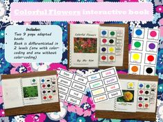 This interactive book is great for young students or students with disabilities. It can be a fun way to work on color identification and generalization! Enjoy!