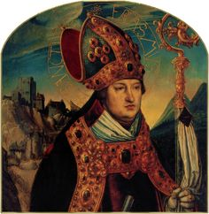 Saint Erasmus, Bishop and Martyr  One of the Fourteen Holy Helpers