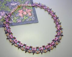 Tutorial Princess Necklace Arcos and Minos Kheops by zviagil