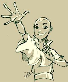 Aang - Avatar: The Last Air Bender