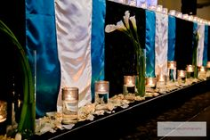 Wedding Events, Our Wedding, Weddings, Wedding Decorations, Table Decorations, Calla Lilies, Event Planning, Linens, Wedding Planner